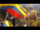Казань чемпионат!Колумбия-Польша!Болельщики Колумбии перекричали кричалками и энергией болельщиков Польши!😍😍😍👈