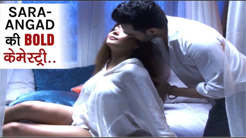 """Sara Khan-Angad Hasija"" Hue Music Video Mein Intimate 