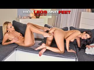 Ivana sugar & azure storm [hd porn, lesbian, foot fetish, feet, legs, worship, natural tits, playboy, legs, orgasm]