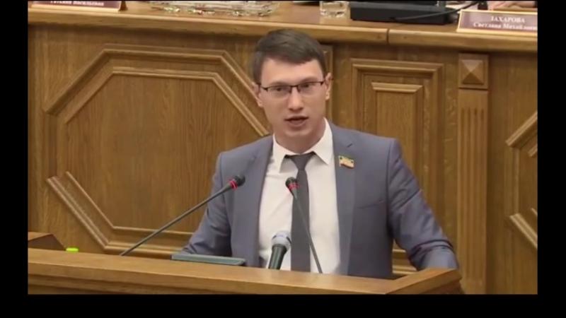 Вот такие должны быть депутаты,а не продажные сиделки в Думе! Артём Прокофьев.
