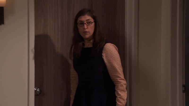 [11х1] Шелдон и Эми ссорятся после ужина