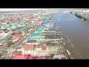 Дома и улицы в воде- зона подтопления Уфимского района