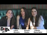 Saludo Laura Azcurra, Victoria Onetto y Celeste Garcia Satur