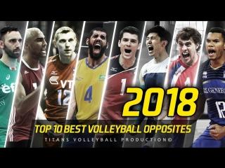TOP 10 Best Volleyball Opposites. VNL - 2018.