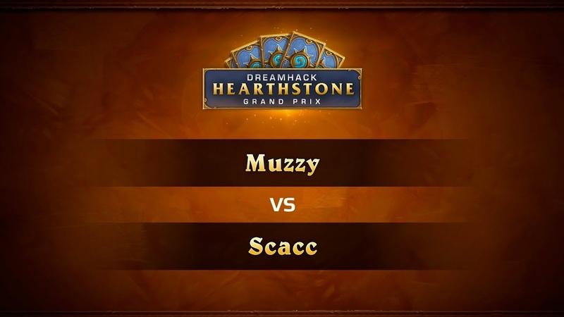 Muzzy vs Scacc, DreamHack Summer 2018