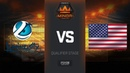 Luminosity vs Freedom 35, map 2 dust2, Americas Minor NA Closed Qualifier – FACEIT Major 2018