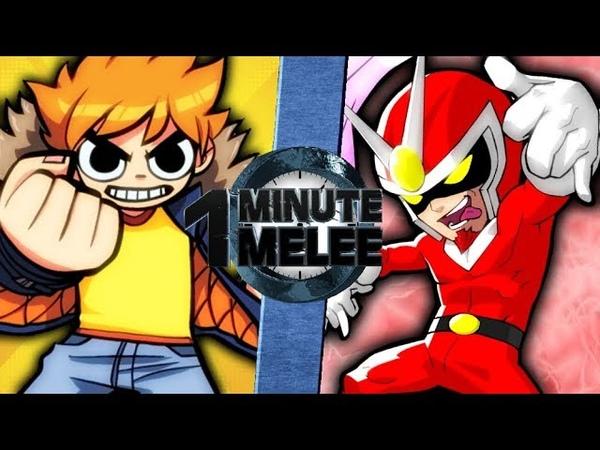 Scott Pilgrim vs Viewtiful Joe - One Minute Melee S5 EP 13