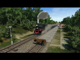 Интенсивное движение паровозов 2