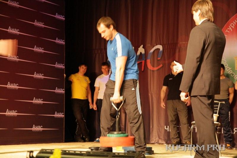 Ivan Matyushenko - Armlifting, Rolling Thunder - Anas 2013 - Armwrestling tournament in Chistopol