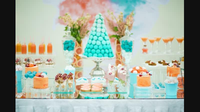 Свадебный банкет, candy-бар в парк-холле МЫ ЖЕ НА ТЫ