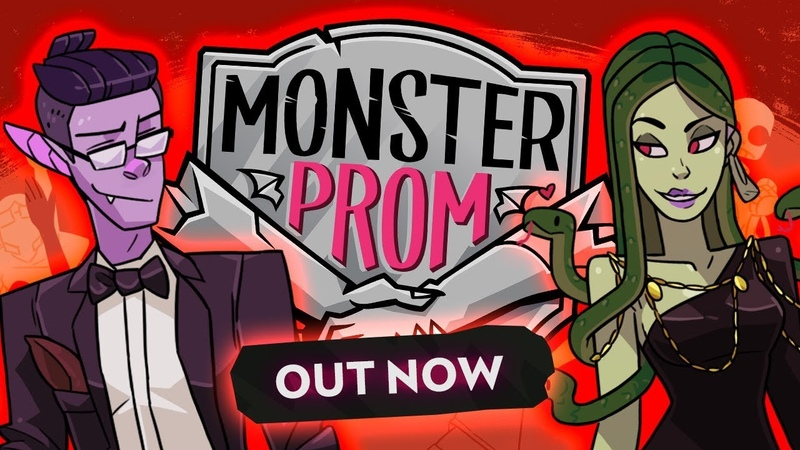 Monster Prom Release Trailer OUT NOW ON STEAM