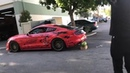 Mustang Smashes Watermelon With Exhaust