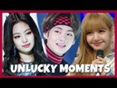 KPOP IDOLS : UNLUCKY MOMENTS FUNNY l FAILS l ACCIDENTS 1 BTS BLACKPINK TWICE EXO GOT7 MOMOLAND