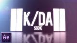 Scene from K/DA create in After Effects