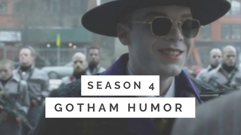 GOTHAM HUMOR | It is also a fork (s4 2)