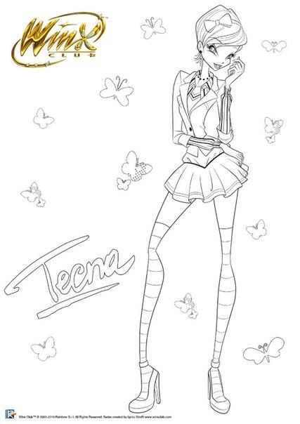 Winx Club Friend\'s: ¡¡¡New Dibujos Para Colorear A Las Winx Club!!!