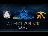 Alliance vs Fnatic Game 1 - XMG Captains Draft Invitational - SUNSfan & syndereN