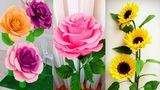 Origami Easy Paper Flower l Very Easy To Make l Paper Craft Ideas l 2018