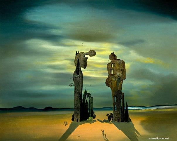 Lukisan surealis karya Salvador Dalí