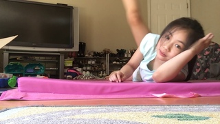 Movie Teaching how to be a contortionist (part 2)