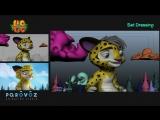 Лео и Тиг 9 серия (процесс создания)