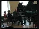 Alexey Shakitko Tatiana Lupikina Brahms piano concert Nº1 Part 2 фрагменты