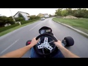 Guy Pretends to Steal Go-Kart and Motorcycle - 986827-2