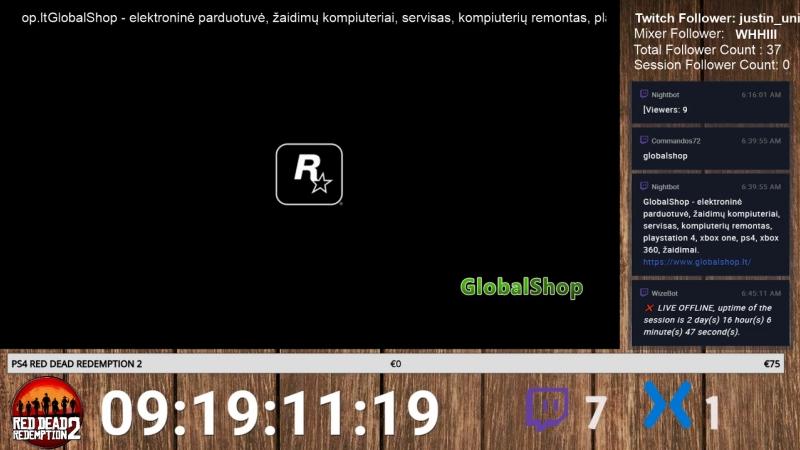 Предзаказ RED DEAD REDEMPTION 2 Countdown Premiera 26.10.2018