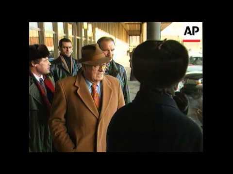 Russia - Le Pen Visits Zhirinovsky