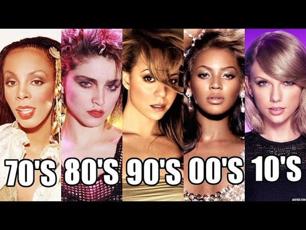 6 Most POPULAR Female Singers of Each Decade!