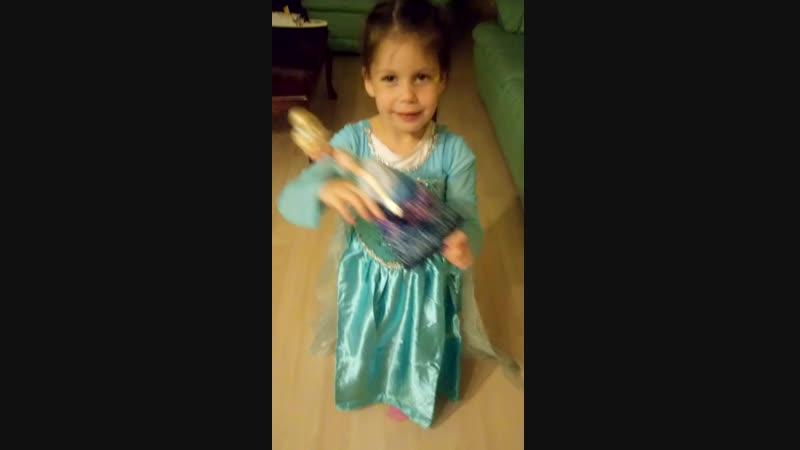 Melisa prensess... Elsa 👸👸👸