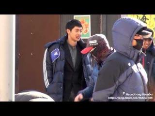 14 03 10 김현중 KimHyunJoong 감격시대 용인세트장 촬영대기 및 저녁시간