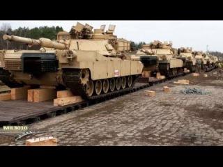 Танки M1A2 Абрамс армии США в Литве, НАТО