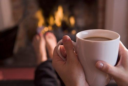 Чашка кофе-утром, Чашка кофе-днём, При