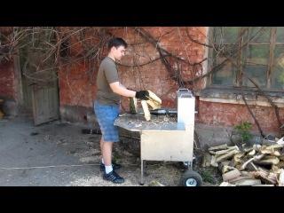 Винтовой дровокол своими руками от 220 в