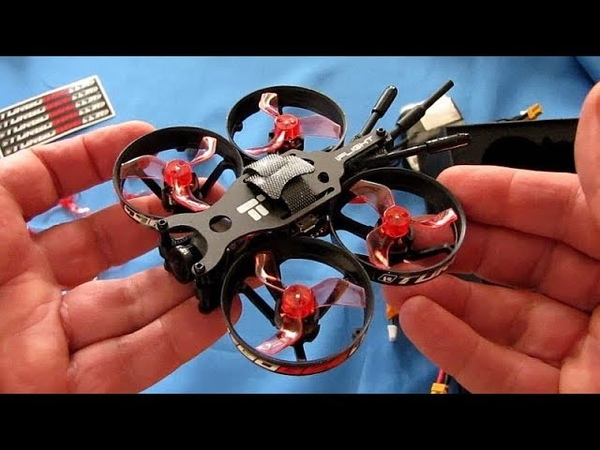 IFlight TurboBee 77R Brushless Micro Whoop FPV Racer Drone Flight Test Review