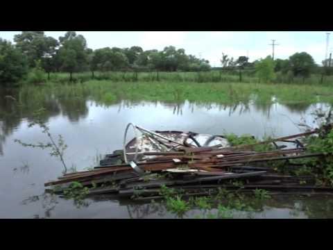 Затопило район Литейки п. Сибирцево Приморского края