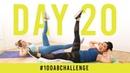 Day 20: 100 Single Leg Drops! | 100AbChallenge w/ Anna Victoria