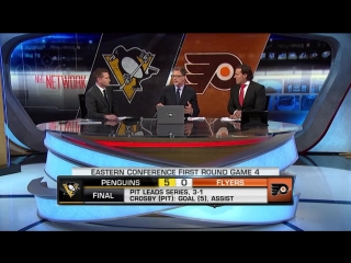 NHL Tonight: Pens at Flyers Game 4 Apr 18, 2018