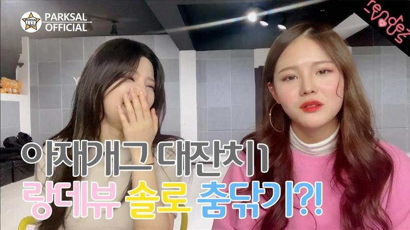 V LIVE 편집영상 _ 아재 개그 랑데뷰(수리,슬기)