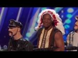 America's Got Talent - Парень взорвал зал Christopher 54 year Village People - YMCA (хорошее настроение, юмор, смешное).