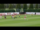 The corner The touch The finish Sam Greenwood scored the winner as AFCU18 beat Southampton 1 0 on Saturday