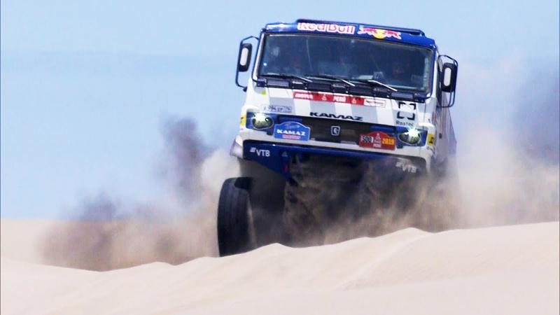 КАМАЗ-мастер на ралли «Дакар 2019» — 13-е января — Жерар Де Рой начинает гонку преследования