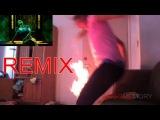 Worst Twerk Fail EVER - Girl Catches Fire! Телка в огне