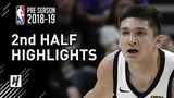 Toronto Raptors vs Utah Jazz - 2nd Half Highlights October 2, 2018 2018 NBA Preseason