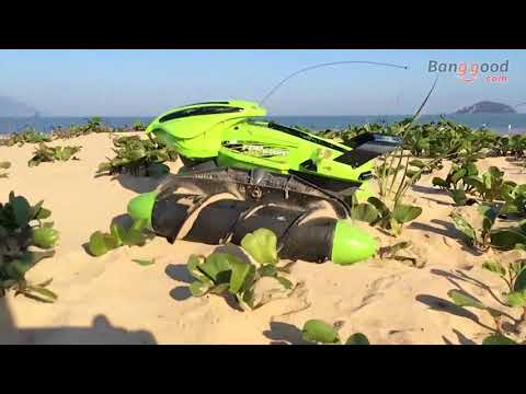 Flytec 989-393 2.4G High Speed Amphibious Stunt Waterproof Sand Lake Grass Snow Road Toys