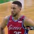 """Bleacher Report в Instagram: «Celtics fans chanting: """"Not a rookie!"""" at Ben Simmons 😂»"""