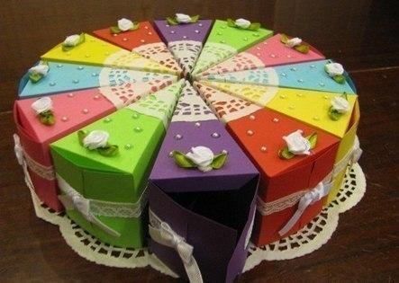 Интересный подарок – торт с пожеланиями.Удиви своих близких.