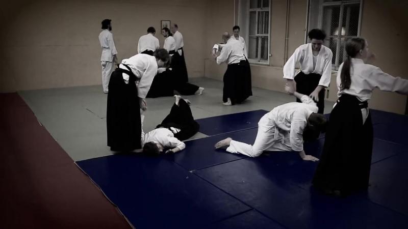 Единоборства айкидо тренировки спб санкт перербург центральный 24 02 14 tr