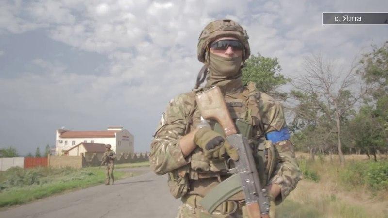 Противодиверсионные учения полка Национальной Гвардии Азов